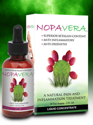 NOPAVERA contains a highly concentrated dosage of Prickly Pear Betalain which has been shown to be a natural free radical scavenger with antioxidant properties. Buy Today at Seacoast.com!.