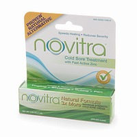 Boericke & Tafel Novitra with Active Zinc is clinically proven to shorten the duration of cold sores..