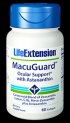 MacuGuard Ocular Support plus Astaxanthin & C3G (60 softgels)* Life Extension