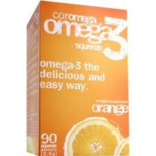 Coromega is a delicious non gelatin based fish oil supplement, offering Omega-3 fatty acids that contribute to concentration and focus, as well as reduce the risk for heart attack and alleviate pain from arthritis..