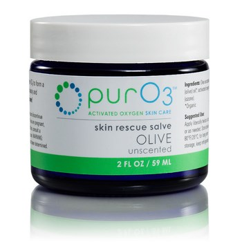 PurO3 saturates organic olive oil with activated oxygen (O3) to form a soothing, oxygen-rich skin salve. Shop Today at Seacoast.com!.
