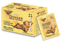 Prince of Peace Ginger Honey Crystals (10 Bags) is an instant beverage with a delicious flavor of honey and ginger.