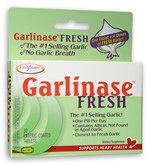 Enzymatic Therapy Garlinase Fresh is the true one-per-day garlic that is enteric coated to ensure maximum absorption and garlic-free breath..