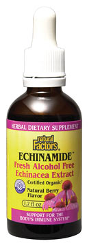 Natural Factors Echinamide Alcohol Free (1.7 oz) is a completely alcohol free product designed specially to help individuals stimulate their immune system and be more resistant to disease.