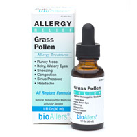 BioAllers Homeopathic Grass Pollen Allergy Treatment.