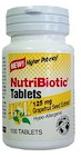 As a natural, non-toxic antimicrobial compound our NutriBiotic Tablets are used internally as a supportive treatment for a wide variety of ailments, including Candida infections, sore throats, intestinal upset, etc. The product is easy to swallow and eliminates the problem of bitter or unpleasant taste..