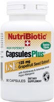 NutriBiotic GSE Capsules Plus (90 caps) is a great GSE supplement that boost immunity.
