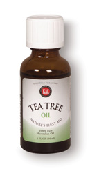 KAL 100% Pure Tea Tree Oil possesses many first aid benefits, helping the body to heal more quickly and treating minor skin irritations..