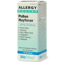BioAllers  Allergy Relief Pollen Hayfever Allergy Treatment.