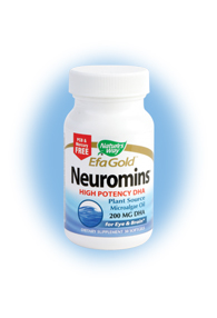 Nature's Way EFA Gold Neuromins provides a non-fish source of essential fatty acids, building healthy bones and immune systems, while contributing to improved cardiovascular health and healthy brain and visual development in infants..