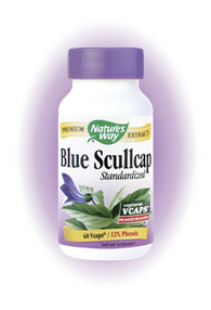 Find relaxation and rest with Nature's Way Blue Scullcap. It is standardized to 12% health-promoting phenols and works to reduce stress and anxiety. Blue Scullcap is known for its relaxing properties and helps to calm nerves..