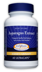 Enzymatic Therapy - Asparagus Extract 60 Ultracaps $12.99 Dietary Supplement Supports healthy fluid balance and urinary tract function. Kidney/Bladder.
