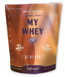 Natural Sport's My Whey is high in fiber and helps to reduce cholesterol and blood sugar levels..