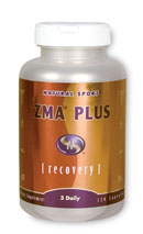 Natural Sport's ZMA Plus is a unique synergistic combination of ZMA (Zinc Magnesium and Aspartic Acid) plus Tribulus and Velvet Bean to help you achieve maximum results. Zinc and Magnesium have been shown to support muscle tissue recovery following intense exercise by inhibiting adrenal cortisol secretion. Zinc may also play an important role in modulating serum testosterone levels in men. Tribulus, when used in conjunction with the Natural Sport fitness plan, boosts stamina, increases muscle size and enhances muscle tone. Tribulus is also known for increasing energy, vitality and libido in both women and men. Velvet Bean (Mucuna Puriens) contains L-Dopa, a pre-cursor to dopamine, which is a neurotransmitter that supports a general sense of well being..