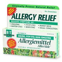 Boericke & Tafel Allergiemittel AllerAide is clinically proven to relieve a wide variety of allergic symptoms.