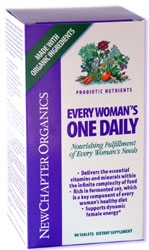 New Chapter | Every Woman's One Daily. Nourishing Fulfillment of Every Woman's Needs.