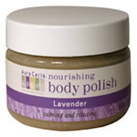 This is a scrub like no other. Organic sugar cane granules lift away dull skin as creamy shea butter, coconut oil and vitamin E restore your skin's vitality and radiance. The calming and relaxing aromas of lavender adds the pleasure of aromatherapy to your experience..