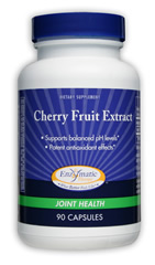 Cherry Fruit Extract is rich in flavonoids - natural, potent antioxidants which support joint, cardiovascular, and circulatory health..