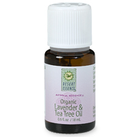 Desert Essence Organic Lavender and Tea Tree Oils provide the soothing benefits of Lavender and the inherently antiseptic benefits of Tea Tree Oil..