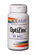 OptiZinc is a patented 1:1 complex of zinc and methionine, the amino acid that is best absorbed by the body..