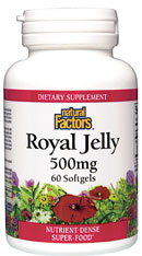 Royal Jelly is among the world's top legendary super-food substances. This exceptional powerhouse is fed exclusively to queen bees. Scientific analysis reveals a broad spectrum of nutrients including minerals, amino acids, enzymes and co-factors..