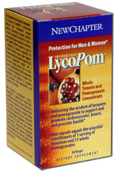 LycoPom delivers a combination of nature's most protective nutrients featuring a novel blend of pomegranate and lycopene containing herbal extracts. Among the class of protective compounds called carotenoids, lycopene stands as the most brilliant..