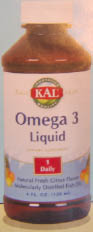 KAL Omega 3 Liquid is an important source of DHA and EPA, both essential to the development of the brain and nervous system, while improving vision and reducing risk of heart disease and stroke..
