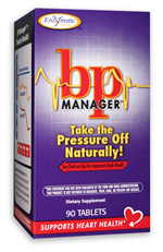BP Manager contains clinically-studied ingredients that support healthy systolic and diastolic blood pressure..