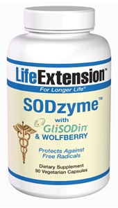 SODzyme/GliSODin & Wolfberry by Life Extension offers ultimate antioxidant support. It contains extremely potent antioxidants that work to maintain the body's overall health..