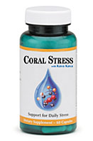 Coral Inc. Coral Stress with Kava Kava provides natural support for daily stress..