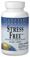 Planetary Formulas Stress Free is a unique combination of calmatives, nervines and tonifiers that aids in the body's ability to fight the effects of stress..