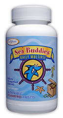 Enzymatic Therapy Sea Buddies Daily Multiple Childrens Chewable Multi-Vitamin.