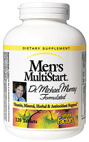 Natural Factors Men's MultiStart Multiple provides a complete spectrum of vitamins, minerals and herbs essential to optimizing men's health..