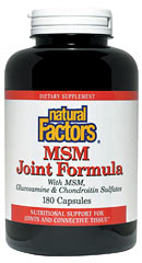 This special formulation is Natural Factors' synergistic blend of natural compounds to optimize joint health..