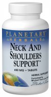 Planetary Formulas- Neck & Shoulder Support containing traditional Chinese Herbs for back, neck, and shoulder support..