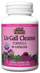 Natural Factors Liv-Gall Cleanse is a supplement designed to help cleanse and support the liver and gallbladder which work together as the filtration system in our bodies..