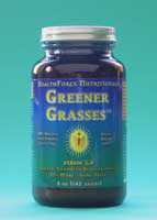 Health Force Greener Grasses  is an incredible combination of green grasses. It provides healthy alkaline elements and large amounts of 100% whole food nutrients (vitamins, minerals, trace minerals including those that are naturally colloidal or better, chlorophyll, fiber, phytonutrients, and more)!.