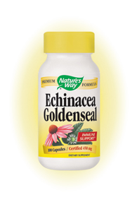 Nature's Way Echinacea Goldenseal Root is an excellent choice to help support the immune system and relieve common ailments.