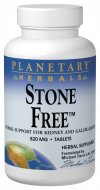 Planetary Formulas Stone Free is an herbal supplement for the kidneys, bladder, and gallbladder, ensuring healthy digestive processes..