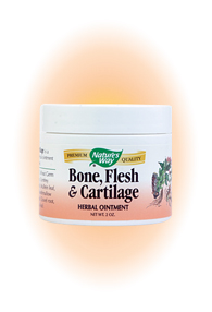 Nature's Way Bone, Flesh & Cartilage Ointment is an all-natural blend that helps support the cartilage, flesh, and bones of your body.It is time-tested..