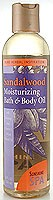 Sandalwood Bath & Body Oil is a relaxing blend of oils and vitamins that aid in the relief of stress and anxiety..