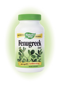 Nature's Way Fenugreek Seed has been used historically as a culinary spice and food soothing to the stomach..