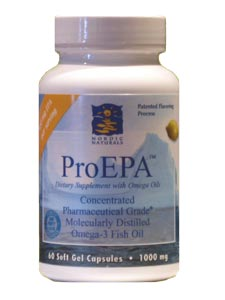 Nordic Naturals' ProEPA delivers a healthy blend of omega-3 fatty acids, especially EPA, which are vital to healthy brain function, a healthy heart, and increased joint mobility..