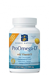 Support healthy immune function, strong bones and teeth, in addidtion to providing your brian with essential Omega-3 fatty acids with ProOmega-D from Nordic Naturals..
