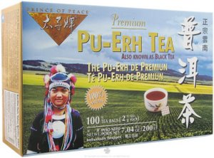 Prince of Peace Pu-Erh Tea (also known as Black Tea)  is harvested and processed with a full oxidation process that causes the tea leaves to turn black. This process gives black tea its special flavor and aroma. Pu-Erh Tea is full of powerful antioxidants that enhance overall health and wellness..