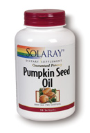 Pumpkin Seed is recognized by the German Commission E. Try this product with Solaray Saw Palmetto dietary supplements for additional support..