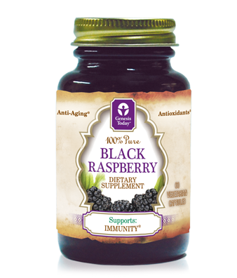 Black Raspberries have an ORAC rating three times that of blueberries and are packed with Antioxidants, Anthocyanins & Ellagic Acid..