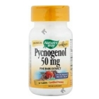 Nature's Way Pycnogenol is an extract made from the Earopean Coastal Pine's bark. It is a valuable source of potent antioxidants that help protect the cells from damaging free radicals. It is blended with Vitamin E to maximize its antioxidant properties..