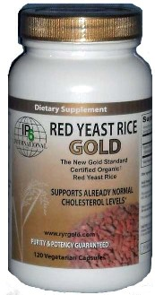 Red Yeast Rice Gold represents a new standard for pure, organically grown Red Yeast Rice products and natural statins..