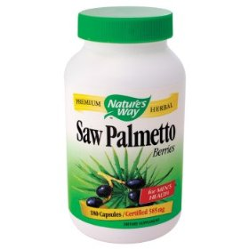 Nature's Way Saw Palmetto Berries provide a natural remedy for prostate problems, also maintaining a healthy urinary tract system..